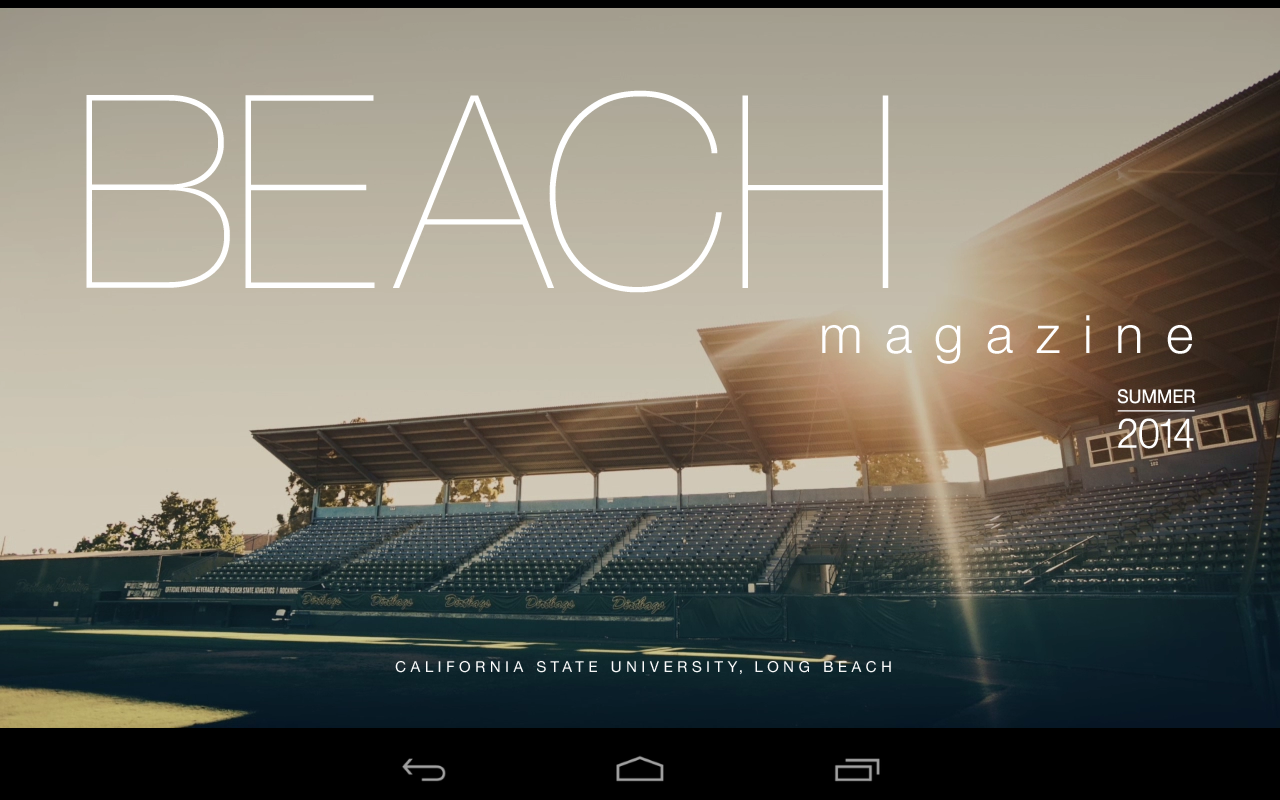 Beach Magazine- screenshot