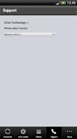 Screenshot of SINAMICS Support