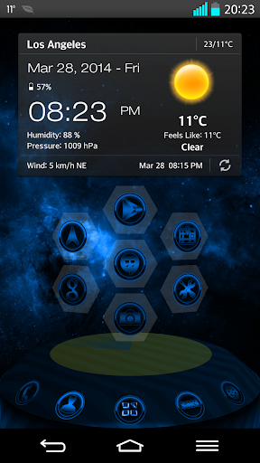 NEXT LAUNCHER THEME SUPERNOVAb