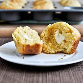 Cheddar + Brown Sugar Cornbread Muffins