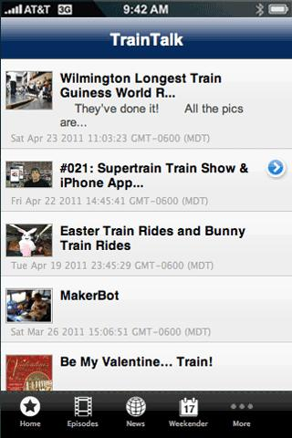TrainTalk- screenshot