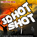 3D Hot Shot logo