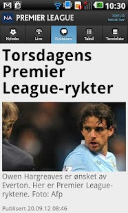 NA fotball - screenshot thumbnail