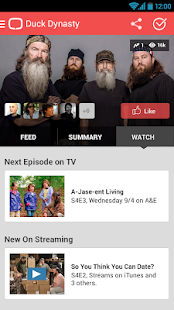 tvtag - formerly GetGlue - screenshot thumbnail