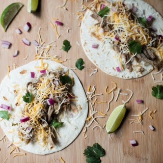 Slow Cooker Barbacoa Pork Tacos.