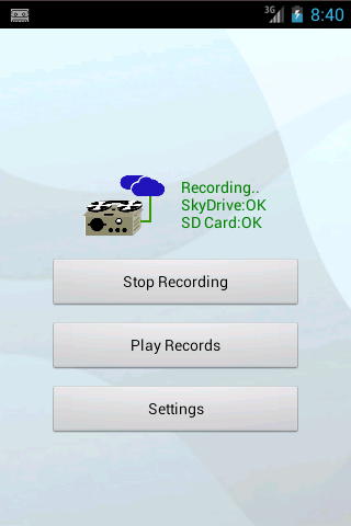 Long-time Voice Recorder