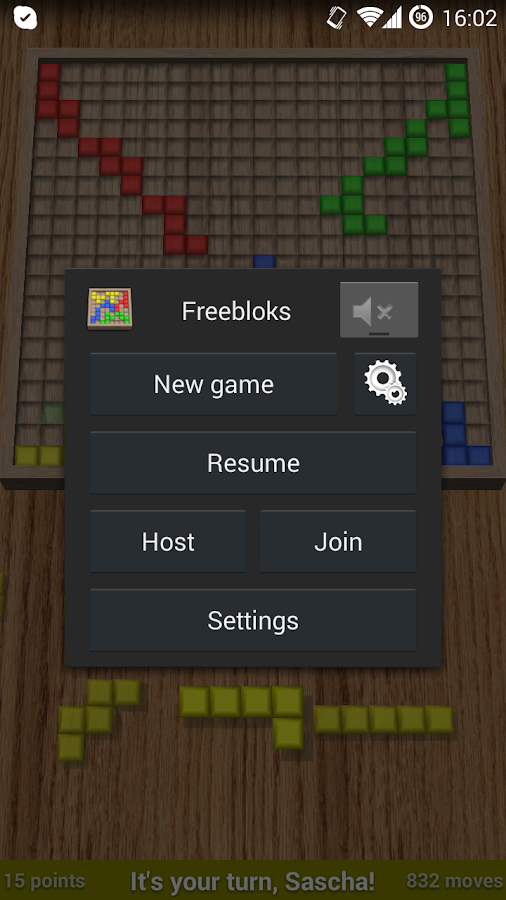 Freebloks 3D - screenshot