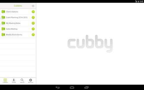 Cubby- screenshot thumbnail