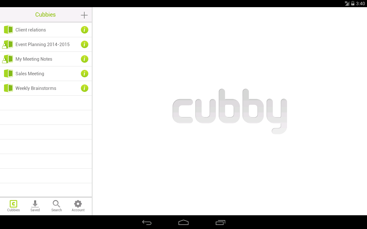 Cubby - screenshot