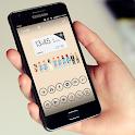 GRAY CIRCLE ICON APEX/NOVA/ADW icon