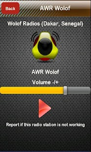 Wolof Radio Wolof Radios- screenshot thumbnail