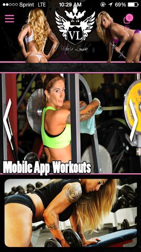 Victoria Lomba Fitness App