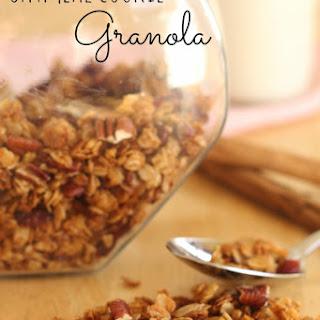 Gluten-Free Oatmeal Cookie Granola