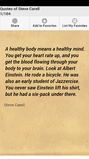 【免費娛樂App】Quotes of Steve Carell-APP點子