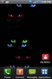 Halloween Eyes Live Wallpaper