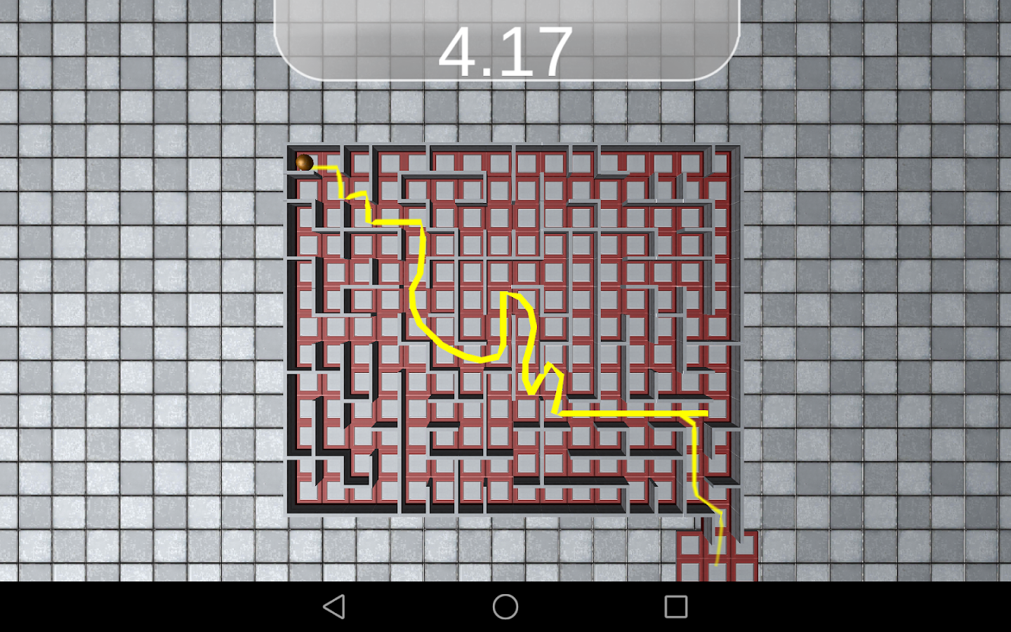 Brain Maze Challenge- screenshot