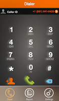 Screenshot of Call Tracking