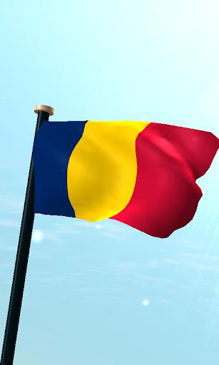 乍得旗3D免費動態桌布
