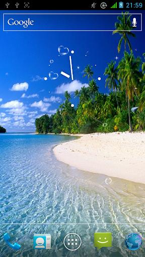 美麗的海灘