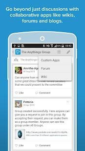 Zoho Connect- screenshot thumbnail