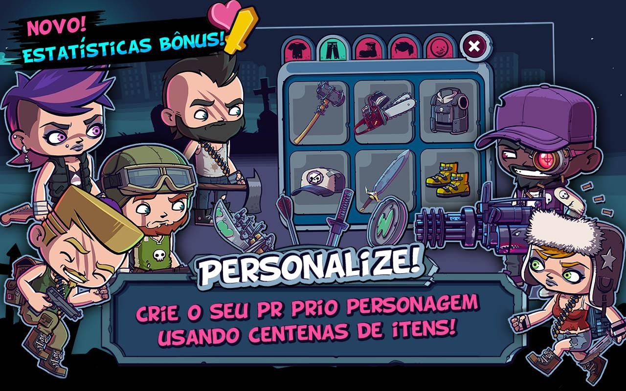 ZOMBIES ATE MY FRIENDS: captura de tela