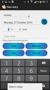 Time Manager Free screenshot 2