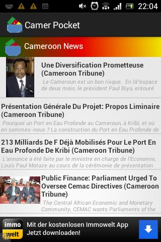 Cameroon Pocket Guide - screenshot