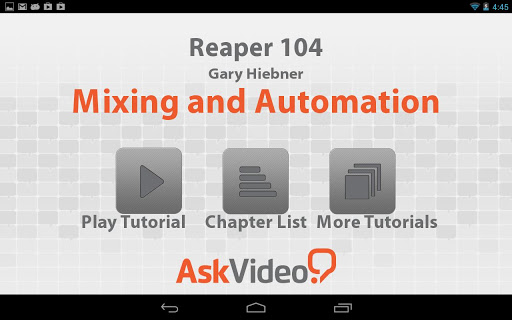 Reaper 104 Mixing Automation
