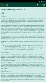 Encryption Manager Lite Screenshot 8