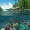 Tropical Sea 3D Live Wallpaper icon