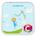 CHILDRENS DAY C LAUNCHER THEME icon