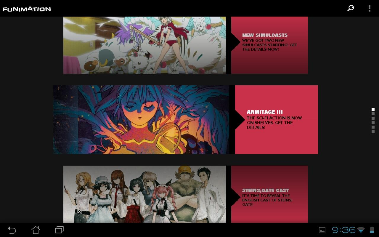 FUNimation - screenshot