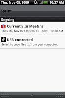 Screenshot of Vibrate During Meetings