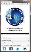 Screenshot of 360 eMarketing SEO