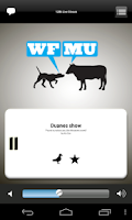 Screenshot of WFMU Radio (older)