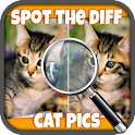 Spot The Difference Cat Pics icon