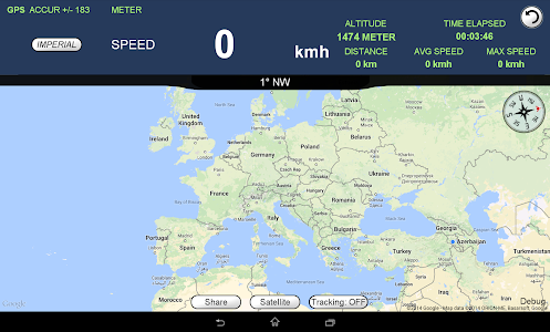 GPS Speedometer Altimeter  + screenshot 4
