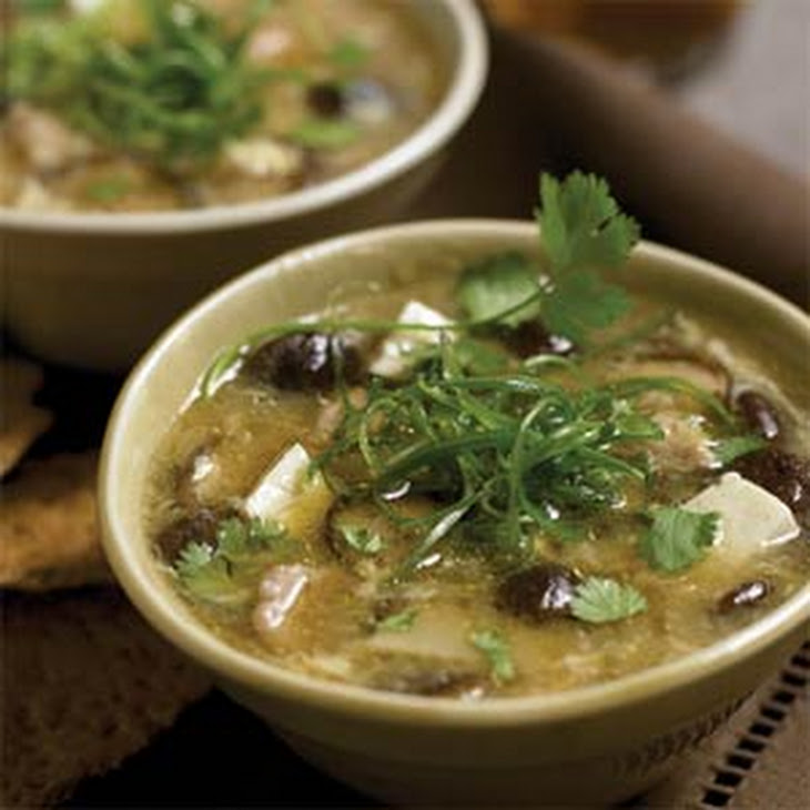 Chinese Hot-and-Sour Soup Recipe