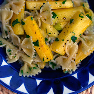 Farfalle with Summer Squash