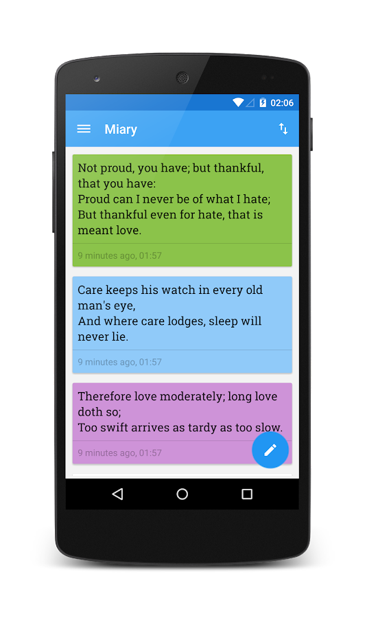 Miary — Private Diary- screenshot