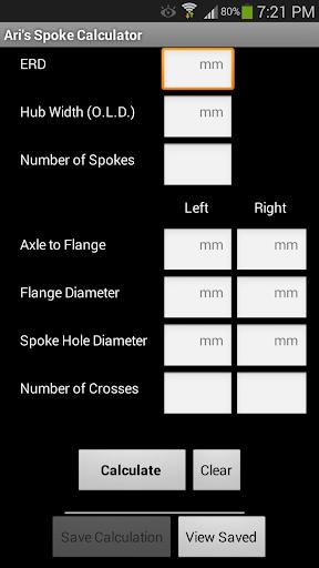 Ari's Spoke Calculator