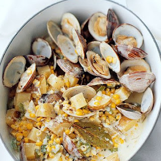 Corn and Clam Chowder Sauce