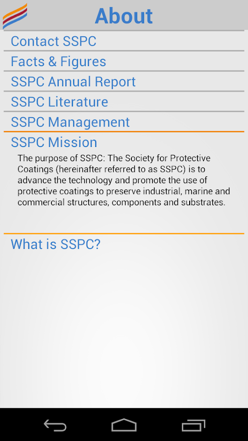 SSPC - screenshot
