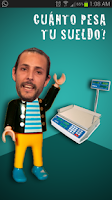 Screenshot of ¿Cuanto pesa mi sueldo?
