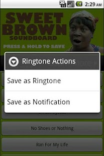 Sweet Brown Soundboard - screenshot thumbnail