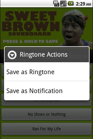 Sweet Brown Soundboard - screenshot