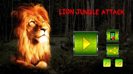 Lion Jungle Attack