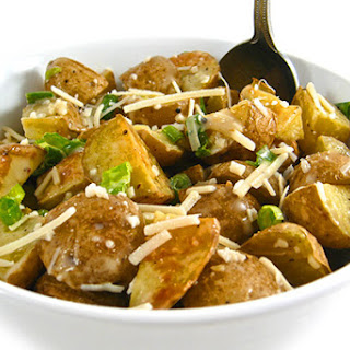 Skinny Potato Salad, Caesar Style