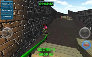 Screenshot of Mad Freebording Snowboarding F