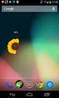 Screenshot of Flower Battery Indicator